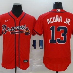 Atlanta Braves #13 Acuna Jr. jersey